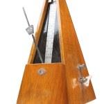 Vintage metronome music timer — Stock Photo