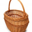 Empty wicker basket — Stock Photo #33806287