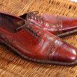 Stock Photo: Vintage men's shoe
