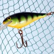 Wobbler for fishing — Stock Photo