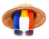 UV protection equipment — Stock Photo