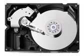 The opened hard drive — Stock Photo