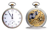 Two clocks — Stock Photo