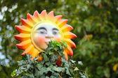 Decorating sun — Foto de Stock