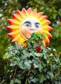 Decorating sun — Stock Photo