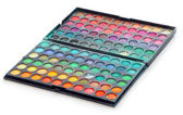 Makeup colorful eyeshadow palettes — Stock Photo