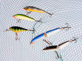 Wobblers for fishing — Stock Photo
