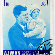 John F. Kennedy stamp — Stock Photo