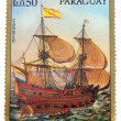 Postage stamp paraguay — Stock Photo #34676381