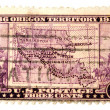 Stock Photo: Oregon territory maps