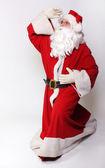 Santa looking — Zdjęcie stockowe