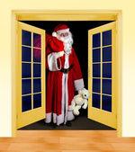 In piedi Santa — Foto Stock