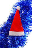 Red Santa's hat — Foto Stock