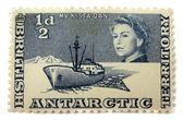 Postage stamp Britain — Stock Photo