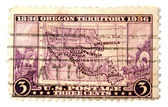 Oregon territory maps — Stock Photo