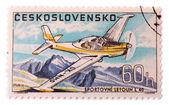 著名的特技飞行表演飞机 — 图库照片