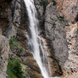 Stock Photo: Biggest waterfall in Dolomiti Mountains