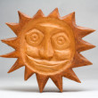 Wooden sun — Stock Photo