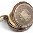 Swiss antique pocket watch — Stock Photo