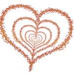 Autumn heart — Stock Photo #35439497