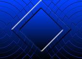 Blue square — Stock Photo