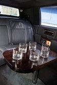 Interior da limousine — Fotografia Stock