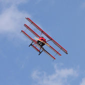 Historic triplane Fokker Dr.1 — Stock Photo