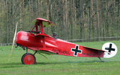 Historic triplane Fokker Dr.1 — Stock Photo