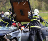 Accident and rescue — Stock Photo