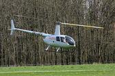Landing helikopter — Stockfoto