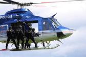 Helicopter police — Stockfoto