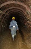 Miner woman — Stock Photo
