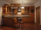 Beautiful kitchen — Stock Photo