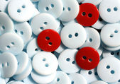 Polyester Resin Buttons — Stock Photo