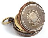 Swiss antique pocket watch — Stock Photo