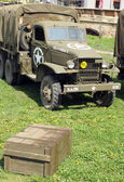 Wehrmacht armored vehicle — Foto de Stock