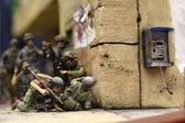Israeli combat team — Stock Photo