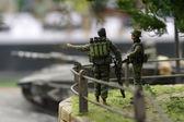 Izrael soldiers in Lebanon — Stock Photo