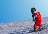 Enfant ski — Photo