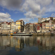 Porto Douro river, Portugal - Stock Photo