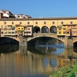 Ponte Vecchio over Arno River, Florence, Italy — Stock Photo #12643939