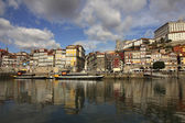Porto Douro river, Portugal — Stock Photo