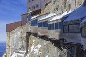 Aiguille du midi, 3842m, haute savoie, chamonix, Frankrijk — Stockfoto