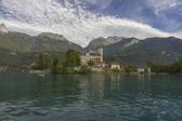 Duingt Castle, Annecy Lake,Haute Savoie, France — Stock Photo