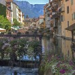 View from Annecy canal - France — Stock Photo #16972475