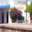 Постер, плакат: Architecture Carthage Hannibal train station Tunisia