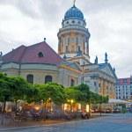 German Cathedral in Gendarmenmarkt Berlin Germany Europe — Stock Photo #12633244