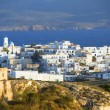 Panoramic Adamas Plaka typical Greek island Cyclades architectur — Stock Photo