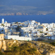 Stock Photo: Panoramic Adamas Plaktypical Greek island Cyclades architectur