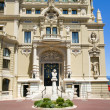 Monte-Carlo Casino and Opera House Monaco French Riviera Cote d' - Stock Photo